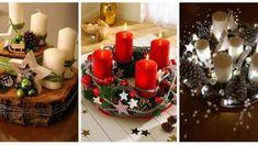 az-unnep-legcsodasabb-asztaldiszei-amiket-te-magad-is-elkeszithetsz-900x438 Advent, Candles, Tea, Table Decorations, Christmas, Furniture, Home Decor, Decorations, High Tea