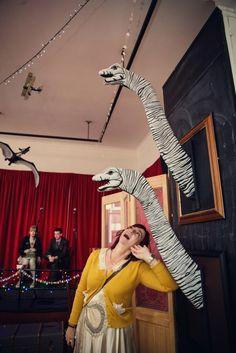 Dinosaurs, Zombies and A Ghost Walk Wedding: Anna & Timmy Science Of Love, Dinosaur Wedding, Ghost Walk, Royal Pavilion, Day And Mood, Spirit Animal, Dinosaurs, Brighton, Diy Wedding