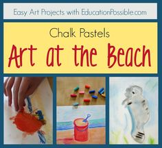 Easy Art Projects: Art at the Beach @Education Possible