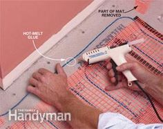 How to install a heated floor