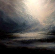 Lona Original abstractas pintura del por SimonkennysPaintings