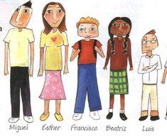 Descripción de personajes adjetivos