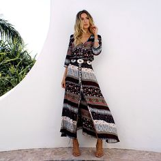 a66433304ac 31 Best Boho Dresses ♥ Dressiu images in 2019