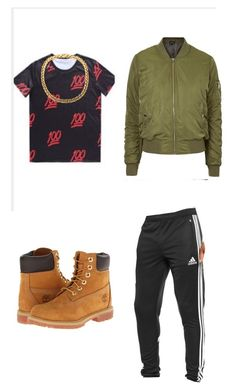 """""""Hakeem from Empire outfit for spirit week"""" by pearlsaved4life on Polyvore featuring adidas, Timberland and Topshop"""