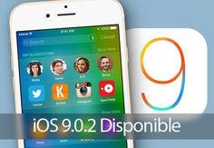 Apple libera iOS 9.0.2 con correcciones leves para iCloud iMessage   Es la segunda actualización desde la liberación de iOS 9 el 16 de septiembre. La actualización pesa apenas 66MB.  Apple publicó el miércoles iOS 9.0.2 la segunda actualización para iOS 9 la más reciente versión del sistema operativo móvil para sus dispositivos.  Según la información de la actualización la descarga pesa apenas 66MB e incluye mejoras en varios aspectos principalmente en activación de datos móviles…