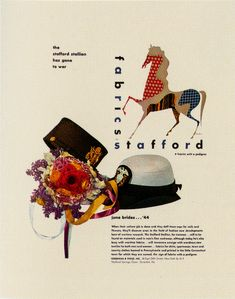 Paul Rand - Stafford Robes #vintage #poster #rope