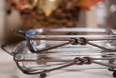Iron Knot serving pieces, timeless and stylish, the perfect meeting of form and function!