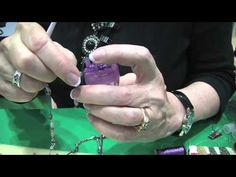French Knitting with Jewelry -- Using Clover French Knitter with Kreinik 1/16 Inch Ribbon