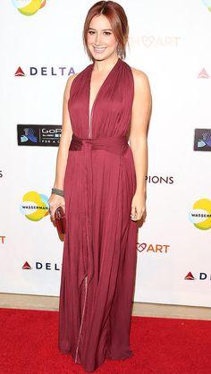Ashley Tisdale: Purse – Chanel Shoes – Christian Louboutin Jacket ...