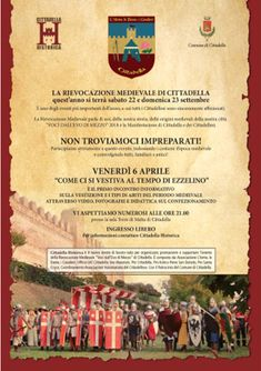 Italia Medievale: Come ci si vestiva ai tempi di Ezzelino