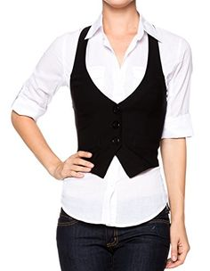 A.S Juniors Stretchy Bengaline Fitted Racer Back Classic Vest Shirts -- More info could be found at the image url. (This is an affiliate link) #Vests