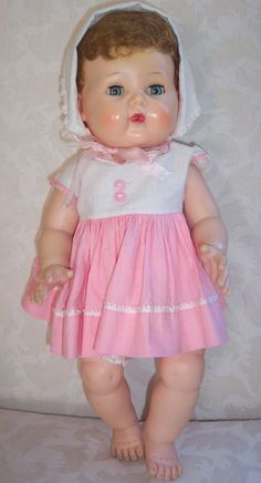 The American Character Doll Company of New York produced high quality dolls from 1919 to 1968.
