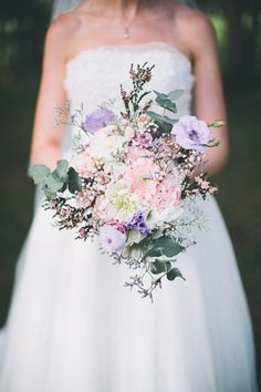pretty pastel bouquet | photo by And a Day