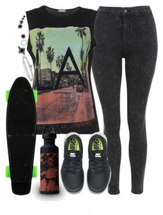 """""""We were meant to live for so much more. Have we lost ourselves?"""" by fernym ❤ liked on Polyvore featuring M:UK, Topshop, NIKE, Hoorsenbuhs, BKE, lyrics, destiny, nike and switchfoot"""