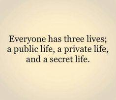 Public. Private. Secret.