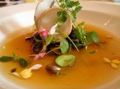 mushroom consomme the fragrance of the amazon
