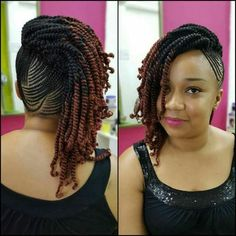 protective hairstyles for relaxed hair - August 24 2019 at Protective Hairstyles, African Braids Hairstyles, Twist Hairstyles, Black Hairstyles, Protective Styles, Natural Cornrow Hairstyles, Child Hairstyles, Hairdos, Wedding Hairstyles