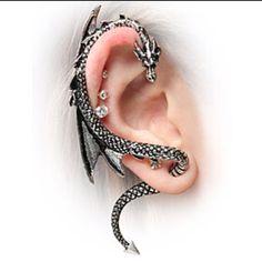 Dragon ear wraparound via think geek