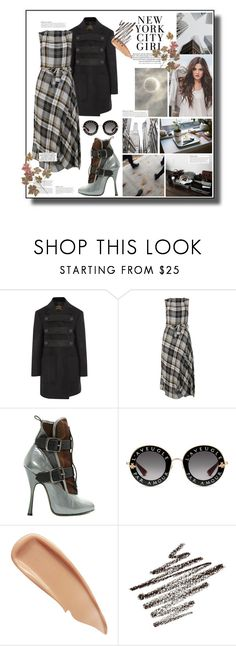 """""""Untitled #1470"""" by sugarmoonmama ❤ liked on Polyvore featuring Vivienne Westwood Anglomania, Vivienne Westwood, Gucci, KAROLINA and Sisley"""