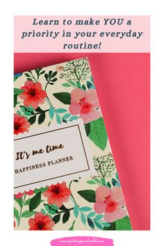 Check out this FREEBIE that will help you prioritize YOU into your everyday routine!