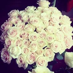 Find images and videos about white, flowers and rose on We Heart It - the app to get lost in what you love. My Flower, Beautiful Flowers, Beautiful Life, Tumblr, Flowers Online, Rose Bouquet, White Roses, Pink Roses, Pink White