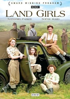 'Land Girls' (2009-2011) British TV drama series commissioned by the BBC to commemorate the 70th anniversary of the outbreak of World War II.Set in the English countryside during World War II.Four different girls arrive at the Hoxley Estate to begin their new working lives at the Pasture Farm & at the opulent manor occupied by Lord & Lady Hoxley.The girls have joined the Women's Land Army for very different reasons,but all share the same goal – to help serve their country & to help win the…