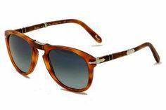 Persol Men's 0PO0714 Square Polarized Sunglasses