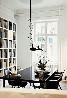 Multitasking Space | Dining Room+ Library