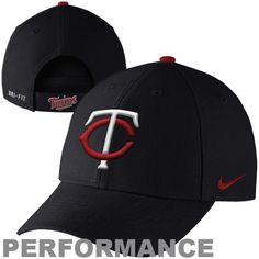 4082a0da3398e3 Minnesota Twins Dri-FIT Classic Adjustable Performance Hat - Navy Blu Minnesota  Twins, Riding