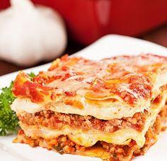 Lasagna al estilo de Sabor & Sazón - Receta en espanol - Segundo