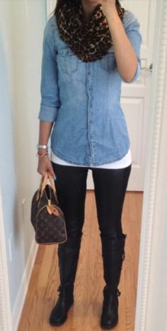Daily Glam: Chambray