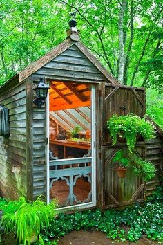 Woodland Potting Shed...love this one!