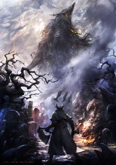 How long did it take you to complete Bloodborne the first time? BloodBorne By huanshi huanshi Dark Blood, Old Blood, Dark Fantasy Art, Fantasy Artwork, Witcher Wallpaper, Bloodborne Art, Dark Souls Art, Arte Horror, Soul Art