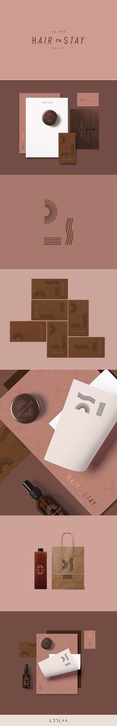 Hair Salon Brand Identity Design Concept | by LOOLAA