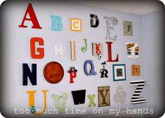 An ABC Wall