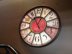Cute coffee shop style wall clock.