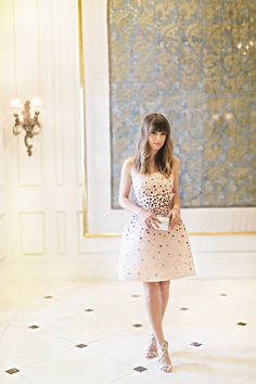 Grand Budapest Hotel Inspired Bridal Shower - Margo and Me's Jenny Berhheim |  Click to see more photos