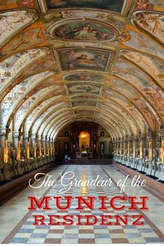 The Antiquarium - Guide and tips to visiting the Munich Residenz with kids - Munich with kids - Germany with kids