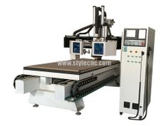 3 axis woodworking cnc machining center with ATC system