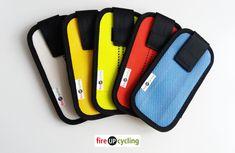 Feuerwehrschlauch Hülle Tasche für Smartphone Handy diverse Farben + Größen   UPCYCLING & DIY Smartphone, Electronics, Mobile Phones, Repurpose, Bags, Colors, Consumer Electronics