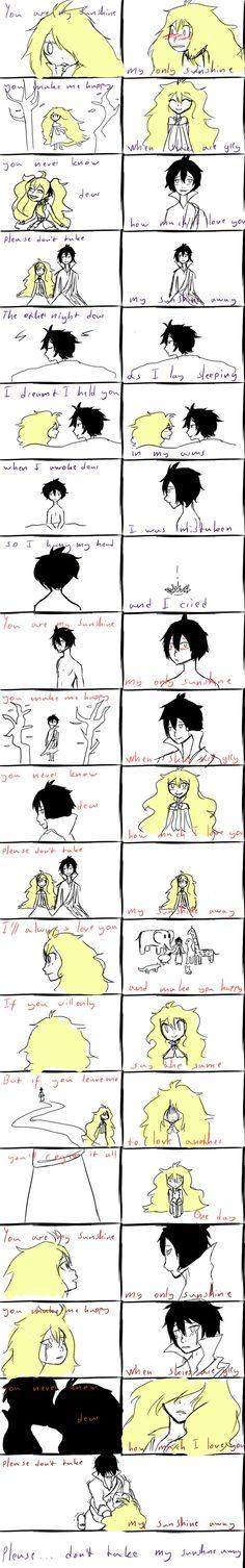 Zeref and Mavis - You are my sunshine AHAHAHAHAHAH NO I AM NOT OKAY RN