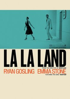 La La Land Hi-Res Movie Poster Blue Room