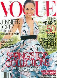 Vogue US January 2005 - Jennifer Lopez