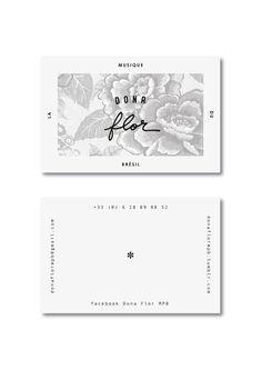 Tasteful and elegant business card design