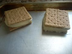 These graham cracker, pudding mix with cool whip frosting/filling, ice cream-ish sandwiches are bomb!  Super simple and yummy.  I used a large box of chocolate pudding mix with half the milk and a large tub of cool whip (minus one cup that i needed for something else.)