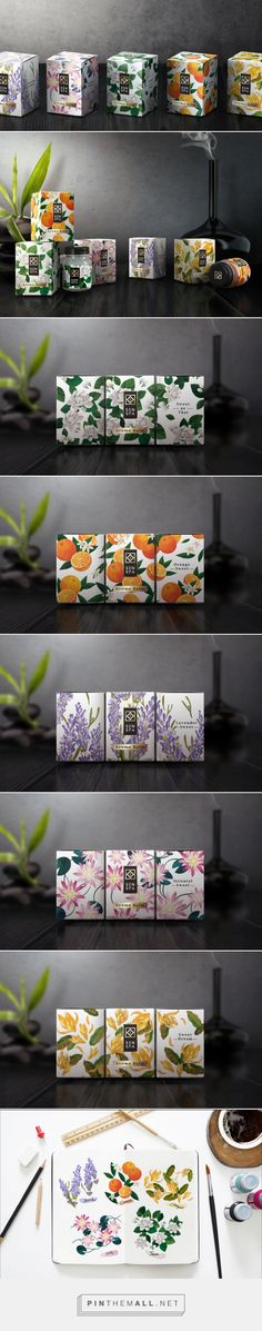 SENSPA Balm / SENSPA BALM has carefully selected various flowers to create special blends of balm that will melt down all your stress and tiredness with a soothing exotic scent / designed by GoNinetyOne