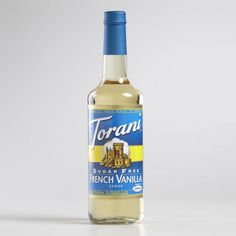 One of my favorite discoveries at WorldMarket.com: Torani French Vanilla Syrup (sugar-free version)