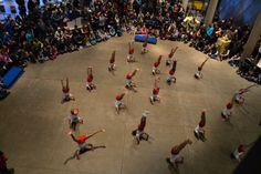 In December, the acrobatic group Young Ambassadors performed at Museum of Glass. Check the event calendar to see what's happening in 2014!   http://museumofglass.org/event-calendar #gymnastics #events #2014 #Tacoma #activities #MuseumofGlass