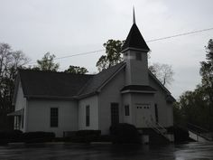 Old church building in Alabama
