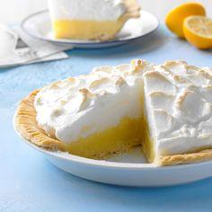 Classic Lemon Meringue Pie Pie Recipes, Dessert Recipes, Camp Desserts, Rhubarb Recipes, Lemon Recipes, Lemon Meringue Pie, Rhubarb Meringue, Strawberry Pie, Lemon Desserts